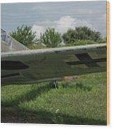 German Fighter Wood Print