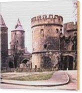 German Gate In Metz 1955 Wood Print
