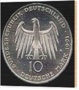 German Mark Wood Print