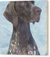 German Shorthaired Pointer 663 Wood Print