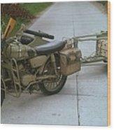 German Sidecar Replica 1943 Wood Print