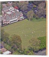 Germantown Cricket Club Cricket Festival Wood Print by Duncan Pearson