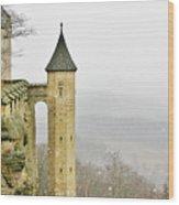 Germany - Elbtal From Festung Koenigstein Wood Print