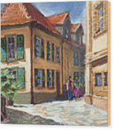 Germany Baden-baden 04 Wood Print