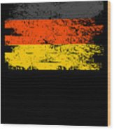 Germany Gift Country Flag Patriotic Travel Shirt Europe Light Wood Print