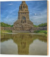 Germany - Monument To The Battle Of The Nations In Leipzig, Saxony Wood Print