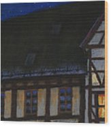 Germany Ulm Fischer Viertel Moonroofs Wood Print