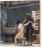 Gerome: The Bath, 1880 Wood Print by Granger