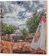 Geronimo Trading Post Wood Print