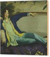 Gertrude Vanderbilt Whitney 1916 Wood Print