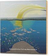 Geruchssinn Von Eissturmvoegeln - Procellariidae  Wood Print