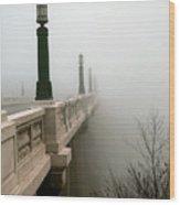 Gervais Street Bridge Wood Print