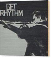 Get Rhythm Wood Print by Pete Maier