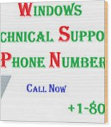 Get Technical Support For Windows Wood Print