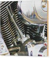 Get Your Motor Running Wood Print