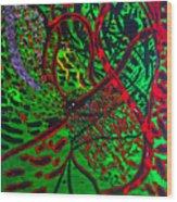 Gethsemane Reborn Wood Print