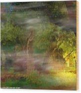 Gethsemane Vision-2008 Wood Print