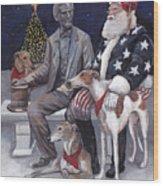 Gettysburg Christmas Wood Print