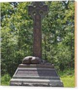 Gettysburg Irish Brigade Monument Wood Print