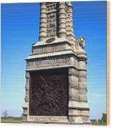 Gettysburg National Park 6th New York Cavalry Memorial Wood Print