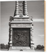 Gettysburg National Park 6th New York Cavalry Monument Wood Print
