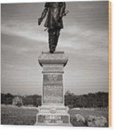 Gettysburg National Park John Gibbon Monument Wood Print