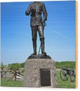 Gettysburg National Park Major General John Buford Memorial Wood Print