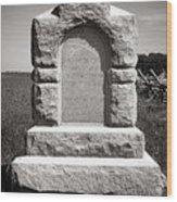 Gettysburg National Park Third West Virginia Cavalry Monument Wood Print