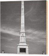 Gettysburg National Park United States Army Regulars Monument Wood Print