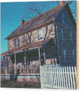 Gettysburg Series Weikert House Wood Print