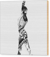 Gevurah Wood Print