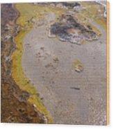 Geyser Basin Springs 4 Wood Print