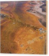 Geyser Basin Springs 6 Wood Print