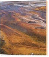 Geyser Basin Springs 7 Wood Print
