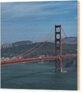Gg San Francisco Wood Print