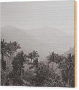 Ghats Wood Print