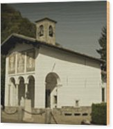 Ghisallo Chapel Wood Print