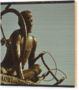Ghisallo Statue Detail 2 Wood Print