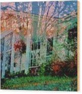 Ghost House Bold Wood Print