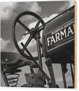 Ghost Of Farmall Past Wood Print