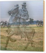 Ghost Of Gettysburg Wood Print by Randy Steele