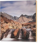 Ghost Of The Fairy Pools Wood Print