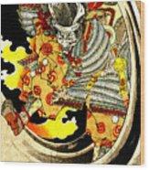 Ghost Of Warrior Tomomori 1880 Wood Print