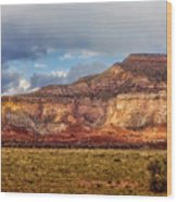 Ghost Ranch Red Wood Print