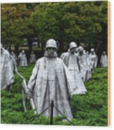 Ghost Soldiers Wood Print