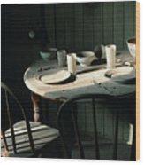 Ghostwind Wood Print