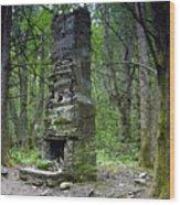 Ghostly Reminder Wood Print