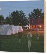Ghosts In Williamsburg Wood Print