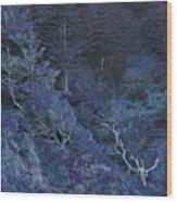 Ghosts Wood Print