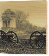 Ghosts Of Vicksburg Wood Print